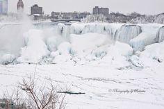 From Canada Frozen Niagara Falls     by Rebecca J.