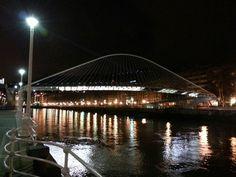 Puente de Zubizuri en Bilbao #GaldakaON