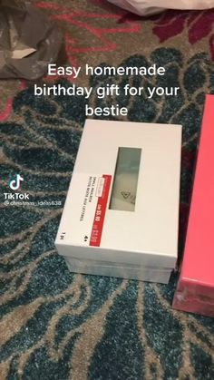 Diy Best Friend Gifts, Bestie Gifts, Birthday Gifts For Best Friend, Presents For Best Friends, Cute Birthday Ideas, Cute Birthday Gift, Diy Birthday, Diy Crafts For Gifts, Ideas For Gifts