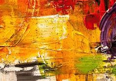 Image result for orange abstract paintings