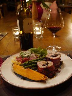 Stuffed Pork Tenderloin with Prunes  #grilling