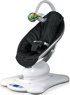 Green Jack MamaRoo BLACK CLASSIC Baby Bouncer Rocker Seat We've never seen a parent vibrate their child like a bouncy seat and hardly seen one swing a 4moms, Baby Rocker, Baby Bouncer, Bouncer Swing, Baby Swings, First Baby, Third Baby, Baby Registry, Gift Registry