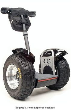 Segway is famous for its Human Transporter that is made for urban areas. Now the company is shipping a different version that is made for Off-Road called the
