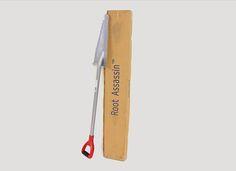 Patented all purpose garden shovel & saw