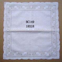 Portuguese handmade linen | Handmade laço de mesa guardanapo lenço de toalhas de mesa ...