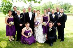 plum purple weddings | whether you choose champagne or plum remember to keep your
