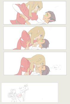 Yuri Manga, Yuri Anime, Bubbline, Korrasami, Lesbian Art, She Ra Princess Of Power, Dc Memes, Owl House, Cute Gay