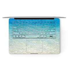 Blue Sea Apple MacBook Keyboard Cover Decal Skin by ArtisticDecals