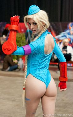 Cammy, Street Fighter.