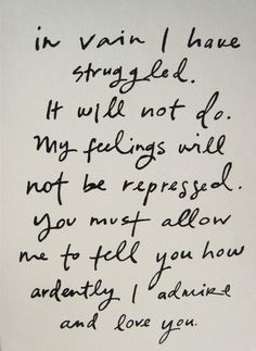 mr darcy quote