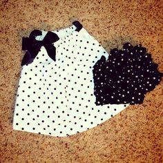 Pillowcase dress and ruffle bum bloomers