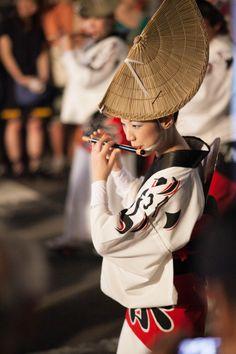 Japanese flutist