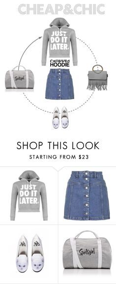 Freetime in greyscale by trendcrossing on Polyvore featuring moda, WearAll, Topshop and Y.R.U.