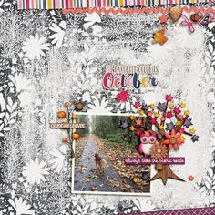 Favorite Color Is October by Rae at The Lilypad using digital scrapbooking products from The Lilypad