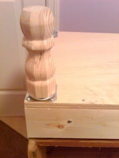 Instructions for adding legs to a dresser (or whatever) for those of us who've never done it. Looks easy- gonna try it!