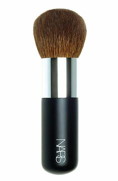 This brush is a must have in your collection of brushes. You can use it for things other than as a bronzer brush. I personally use it for blush and Dior's Airflash foundation.
