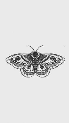 Little Tattoos, Small Tattoos, Cool Tattoos, Random Tattoos, Tatoos, Tattoo Sketches, Tattoo Drawings, Body Art Tattoos, Moth Tattoo Design