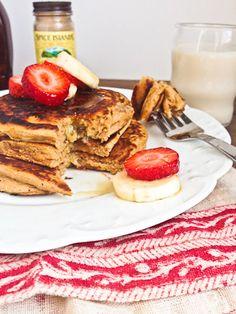 Sweet tater pancakes
