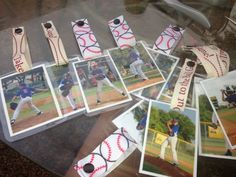""" I took action photos of the boys. I turned them into bag tags. They loved them. Great team mom or baseball mom idea. Just laminate them, get ribbon from Hobby Lobby and use the Kam Snap press for the buttons."" Mom I want one! Baseball Snacks, Travel Baseball, Baseball Crafts, Baseball Party, Softball Mom, Baseball Season, Sports Baseball, Baseball Dugout, Baseball Coach Gifts"