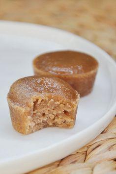 Mini fondants with chestnut cream - Mathilde en Cuisine Sweet Recipes, Cake Recipes, Dessert Recipes, Cupcake Cakes, Cupcakes, Cake Fondant, Kolaci I Torte, Biscuit Cake, No Sugar Foods