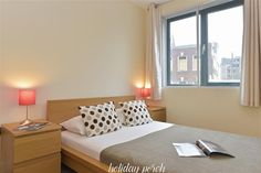 We have a fabulous short stay holiday apartment in London and it is a stunner. It is on the second floor - no worries, you have an elevator. No Booking Fees.