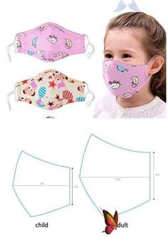 Emmie's Blog<br> Sewing Patterns Free, Sewing Tutorials, Sewing Hacks, Sewing Crafts, Free Pattern, Pattern Sewing, Small Sewing Projects, Easy Face Masks, Diy Face Mask