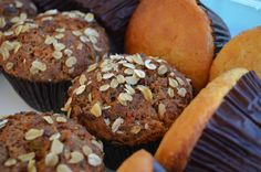 French Energy Muffins and Citrus Muffins