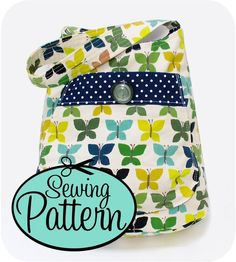 Bucket bag sewing pattern, nice small purse or would be good for a child