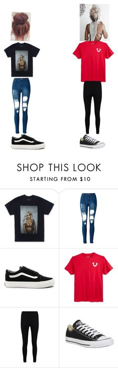 """""""Jspooks ~ chill bill"""" by lozoya-linda on Polyvore featuring WithChic, Vans, True Religion, Boohoo and Converse"""