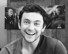 George Blagden - love that smile! So adorable!!!