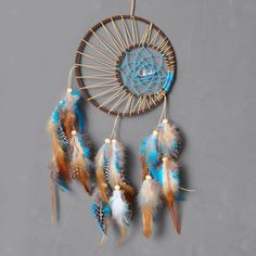 8.75AUD - Handmade Indian Dream Catcher Bad Dreamcatcher For Wall Car Hanging Ornament #ebay #Home & Garden