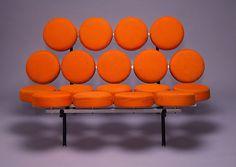 Orange Marshmallow Sofa by George Nelson - Chair Blog
