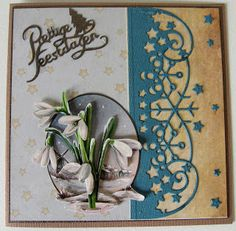 Memory Box Dies, Christmas Tag, Handmade Cards, Stampin Up, Layouts, Winter, Design, Foil Stamping, Stamping Up