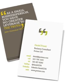 Stationery by stanojevic business pinterest stationery design business card designs you can quote me as a small business person you colourmoves