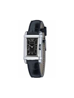 Emporio Armani Women's Black Leather Collection watch AR0258