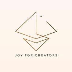 {Logo Creation} A little logo I made for a beautiful soul based business consultation company called Joy For Creators! The logo represents the balance between the creation of foundation energetic structures and grounding and the potential that comes as a result - light clarity and energetic expansion. #logodesigner