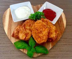 Nuggetsy w panierce ala macdonalds Tyga, Cauliflower, Dairy, Cheese, Dinner, Vegetables, Food, Recipes, Mascarpone