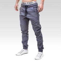Kalhoty Mason šedé