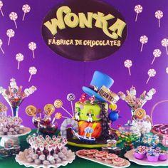 Festa fantástica fábrica de chocolate!  #istoetantafestanca  www.tantafestanca.com.br