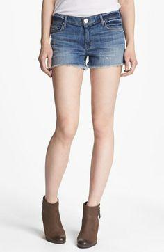 Springtime wardrobe essential: cutoff shorts