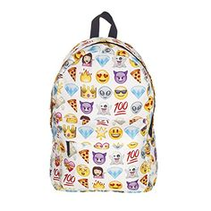 Anyshock Casual Canvas Travel School College Backpackbookbagsdaypack for Teenage Girlsstudentswomen Emoticon1 -- Be sure to check out this awesome product. Note:It is Affiliate Link to Amazon.