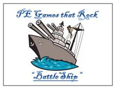 Battle Ship - physical education game - PE Games that Rock!