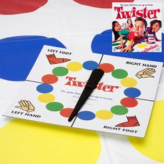 Twister to break the ice Kids Carnival, Carnival Birthday Parties, Carnival Games, Slumber Parties, Fun Games, Games For Kids, Games To Play, Childhood Toys, Childhood Memories