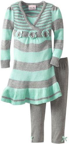 Little Lass Baby-Girls Infant 2 Piece Stripe Knit Sweater Dress Set, Mint, 12 Months Little Lass http://www.amazon.com/dp/B00D6CAELY/ref=cm_sw_r_pi_dp_nnVWtb1CNA35HP3T