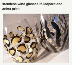 Cute Wine Glass Ideas DIY!!