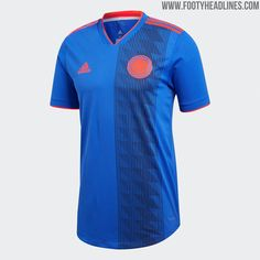 2018 Colombia World Cup Soccer Jersey Shirt Kit World Cup Jerseys, Jersey Shirt, T Shirt, Cheap Online Shopping, Football Kits, Red Logo, World Cup 2018, Comic Sans, Soccer Jerseys