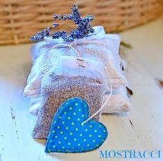 Mo-stracci: sacchettini profumati alla lavanda