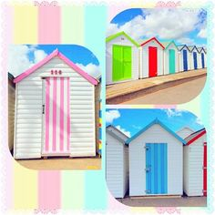 Beach hut love  #paigntonseafront #beachhuts #beachhutstyle #thegreatbritishseaside #beachhutlove #paigntonbeach #englishriviera #devon #colorcolourlovers #beachhutlife #pastels #candystripes #devonlife #lovebeachhuts #abmlifeiscolorful #livecolourfully #pastellove #rainbowstripes #holidaymemories #paignton #ukpotd #lovedevon