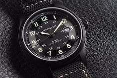 Hamilton Khaki Field Titanium Auto Review   wrist time watch reviews