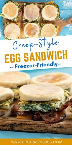 Easy Egg Sandwiches for quick